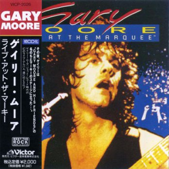 Gary Moore - Live At The Marquee 1983 (Victor/Japan 1990)