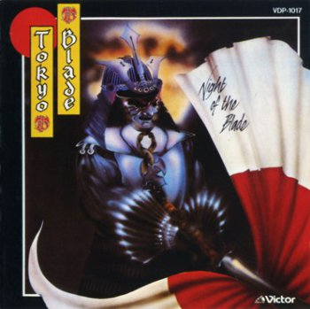 Tokyo Blade -  Night Of The Blade 1984 (Victor/Japan 1985)