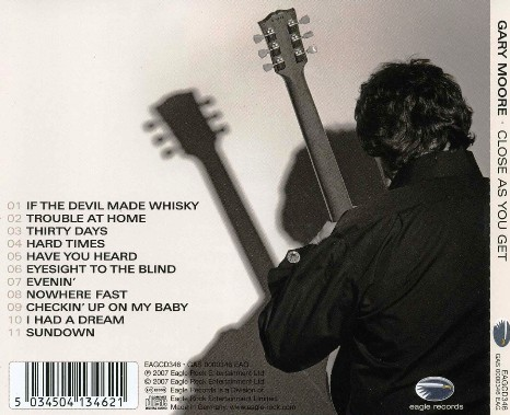 Close As You Get by Gary Moore on Amazon Music Unlimited