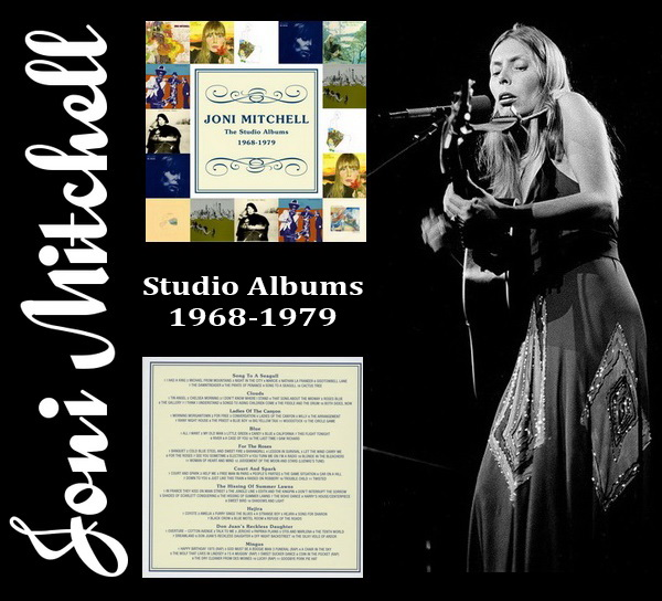 Joni Mitchell: Studio Albums 1968-1979 - 10CD Box Set Warner Music / Rhino Records 2012