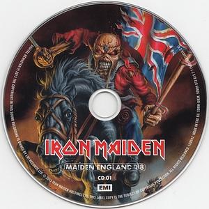 Iron Maiden - Maiden England '88 (2013)