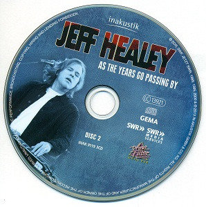 Jeff Healey - As The Years Go Passing By [Deluxe Edition, 3CD] (2013)