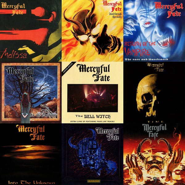 Mercyful Fate - Discography (1983-1999)