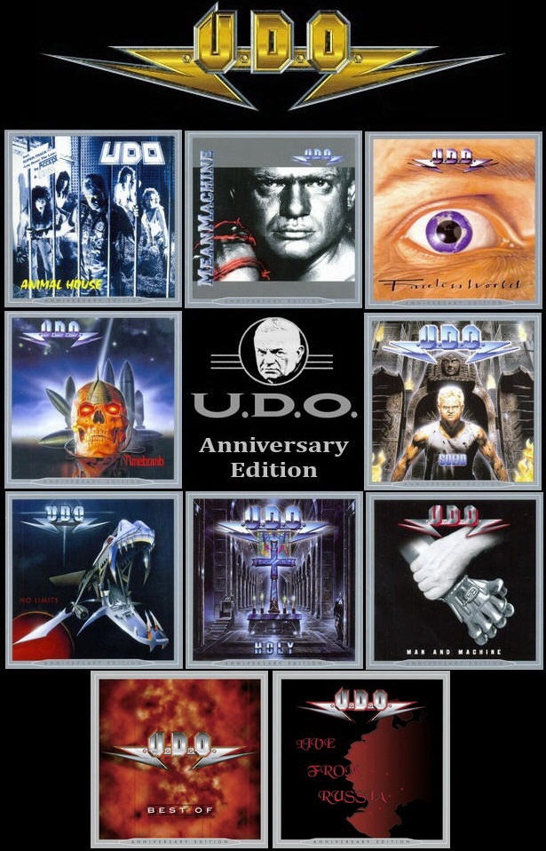 U.D.O.: 10 Albums Anniversary Edition - AFM Records 2013