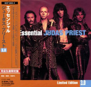 Judas Priest - The Essential (Japanese Edition) 3CD (2008)
