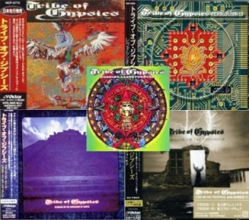 Tribe of Gypsies - Discography 5CD (1996-2006 Japan Edit.)