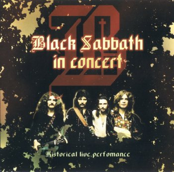Black Sabbath - In Concert: Historical Live Performance 1970 (Bootleg/Olympia, Paris)