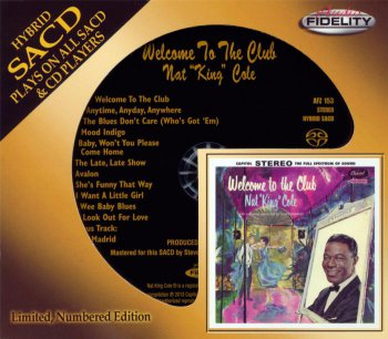 Nat King Cole - Welcome To The Club 1959 (2013)