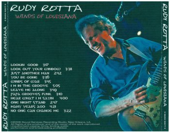 Rudy Rotta - Winds Of Louisiana (2006)