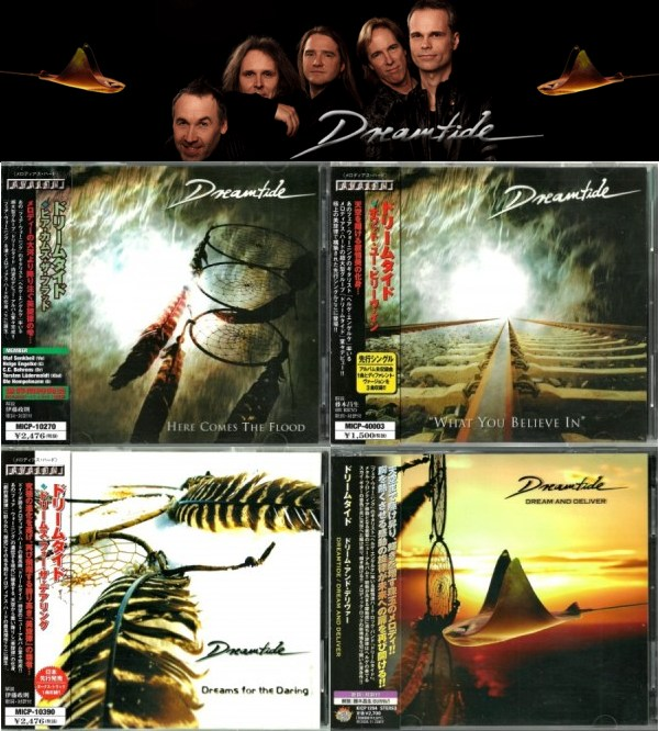 Dreamtide - Discography [Japanese Edition] (2001-2008)