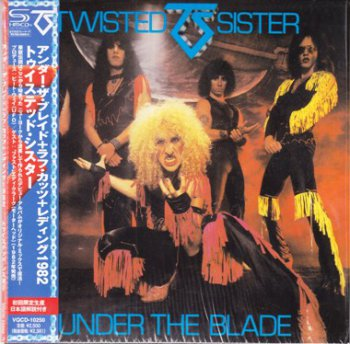 Twisted Sister - Under The Blade 1982 (2011 Armoury/Ward Rec. Japan, SHM-CD VQCD-10250)