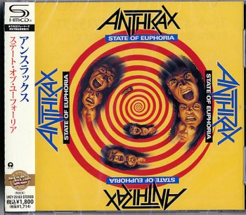 Anthrax  State Of Euphoria  SHM-CD   2011