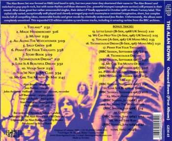 The Alan Bown - Outward Bown (1968) [Reissue 2011]