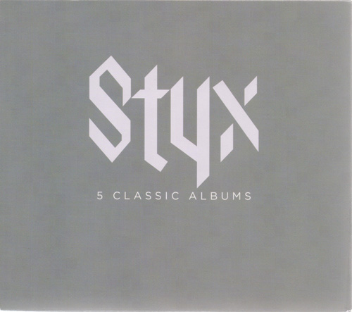 Styx - 5 Classic Albums [Box Set, 5CD] (2013)