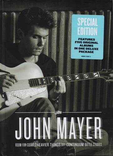 John Mayer - Room For Squares, Heavier Things, Try!, Continuum, Battle Studies [Special Edition, BoxSet, 5CD] (2013)