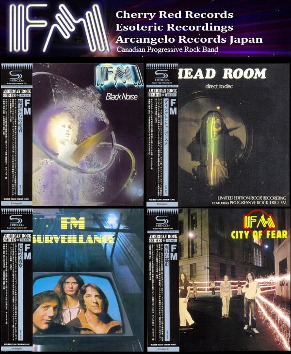 FM: 4 Albums Mini LP SHM-CD Collection - Arcàngelo Records Japan Reissue & Remaster 2013