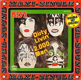 KISS - Dirty Livin' 12''  (1979)  Vinyl (German)