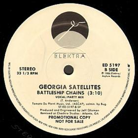 Georgia Satellites - Battleship Chains 12''  (1986) Vinyl