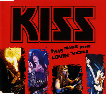 KISS- I Was Made For Lovin' You- Mercury 862607-2, GER (1993)
