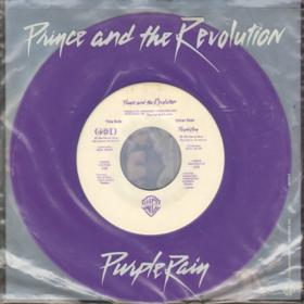 Prince - Let's Go Crazy 7'' +  Purple Rain 7'' (1984) Vinyl 45RPM.