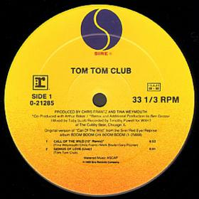 Tom Tom Club - Call Of The Wild 12'' Vinyl 12''(1989)