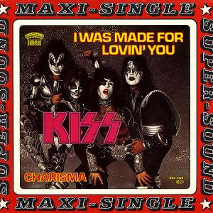 KISS-I Was Made For Lovin' You  Maxi Single Vinyl 45 RPM (1979)