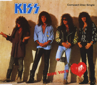 KISS- Hide Your Heart Vertigo KISCD-10, UK (1989)
