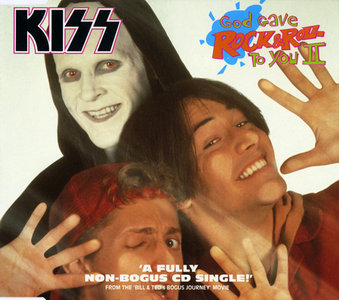 KISS-  God Gave Rock & Roll To You II Warner 96275-2, GER (1991)
