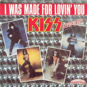 KISS- I Was Made For Lovin' You US 12'' Promo (1979)