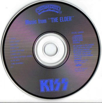 KISS - Music From The Elder  1st Japan Press (1981-1986)