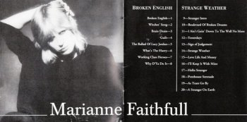 Marianne Faithfull - Broken English / Strange Weather 1979/1987 (Islands Rec. 1995)