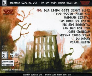 :wumpscut: - Madman Szpital (Limited Edition) 2CD (2013)