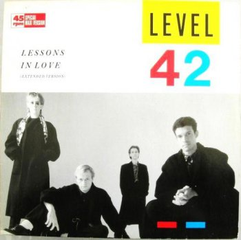 Level 42- A Lessons In Love  Vinyl  12''  Maxi Single 45Rpm (1986)