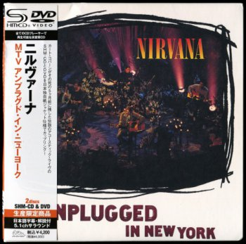 Nirvana- MTV  Unplugged In New York  Japan (1994-2009)