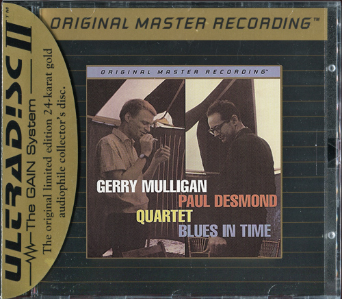 GERRY MULLIGAN & PAUL DESMOND QUARTET «Blues In Time» (1957) (US 1995 MFSL • UDCD 648)