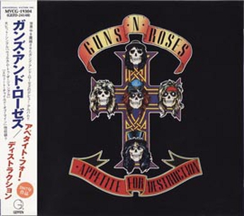 Guns N Roses  Appetite For Destruction Japan (1987)