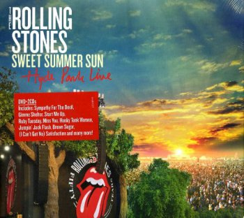 The Rolling Stones- Sweet Summer Sun-  Hyde Park Live  (2CD-2013)
