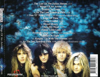 Vengeance - The Last Of The Fallen Heroes / Wings Of An Arrow 1994/2000 (Alfa Music Japan/Pseudonym Rec. Netherlands)