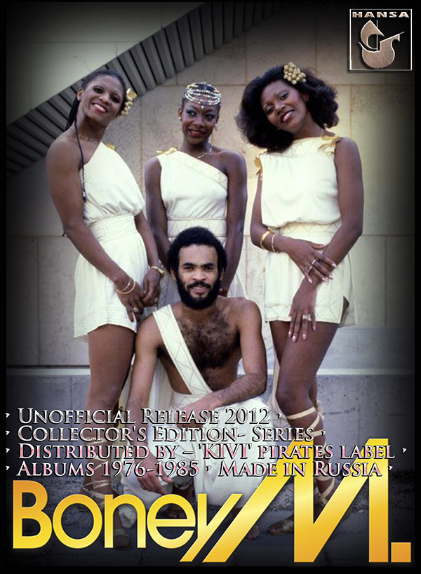 BONEY M. - Discography 'Collector's Edition' (RU 9 x CD • Unofficial Release 2012)
