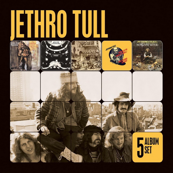 Jethro Tull: 5 Album Set - 5CD Box Set EMI Music Australia 2012