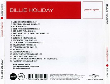 Billie Holiday - Lady Sings The Blues (2006)