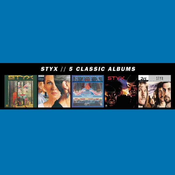 Styx: 5 Classic Albums - 5CD Box Set Universal Music 2013