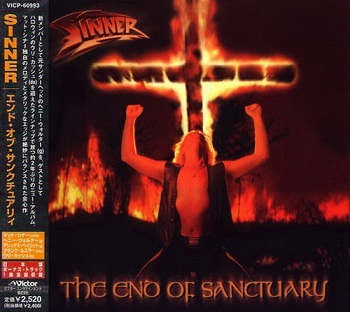 Sinner - The End Of Sanctuary (Japan Edition) (2000)