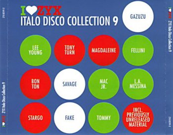 VA - I Love ZYX Italo Disco Collection 9 (ZYX 82191-2) 2009