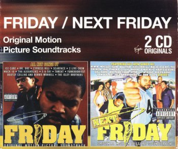 Various Artists - Friday / Next Friday - Original Motion Picture Soundtrack 2 CD Originals