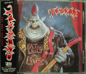 Tankard- Fat, Ugly & Live Victor VICP-5073 Japan (1991)