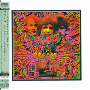 Cream: 3 Albums - 5 Mini LP Platinum SHM-CD Universal Music Japan 2013