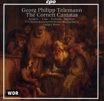 Telemann Georg Philipp - The Cornett Cantatas (Ludger Remy) (1998)