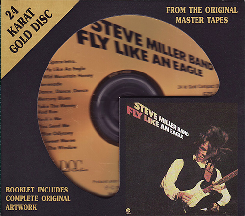 STEVE MILLER BAND - Fly Like An Eagle (1976) (US 1993 DCC Compact Classics • GZS-1033)