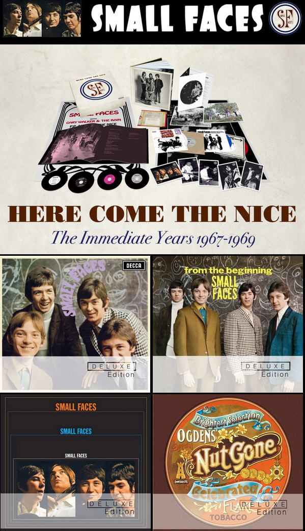 The Small Faces - Here Come The Nice: 4CD Amazon Exclusive / 4 Albums Deluxe Editions